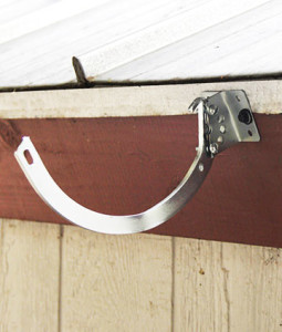 Shank Amp Circle External Hangers For Half Round Gutters