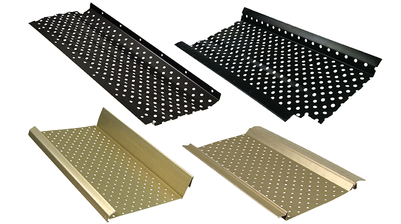 Perforated Gutter Guards Rain And Gutters